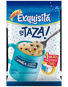 Exquisita en Taza – Vainilla