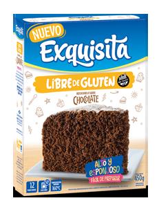 Bizcochuelo Chocolate Libre de Gluten